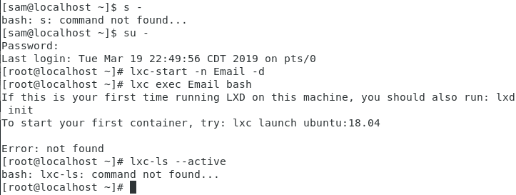 Installing services in an LXC container - Linux Containers Forum